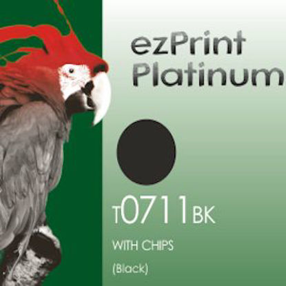 ezprint Platinum T0711 / T0891 Black, kompatibilna kartuša