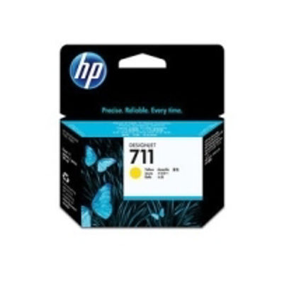 HP CZ132A nr.711 Yellow, originalna kartuša