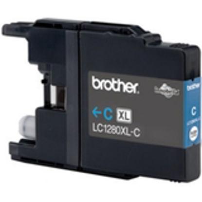 Brother Ink LC 1280XL Cyan 1,2k (LC1280XLC) Cyan, originalna kartuša