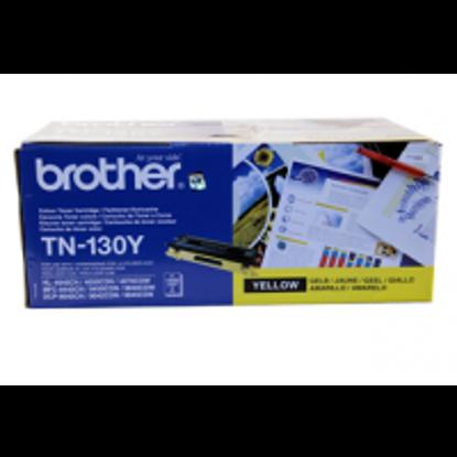 Brother TN-130 Y (TN130Y) Yellow, originalen toner