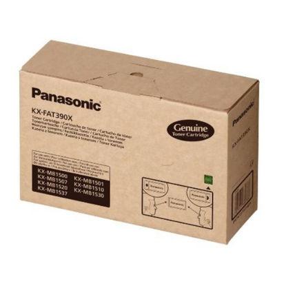 Panasonic KX-FAT390X Black, originalen toner