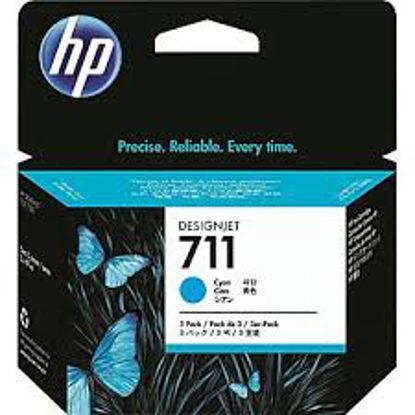 HP CZ134A nr.711 (3 X CZ130A) Cyan, originalna kartuša