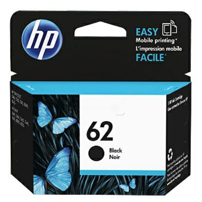 HP C2P04AE nr.62 Black, originalna kartuša