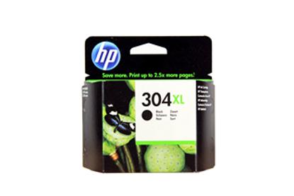 HP N9K08AE nr.304XL Black, originalna kartuša