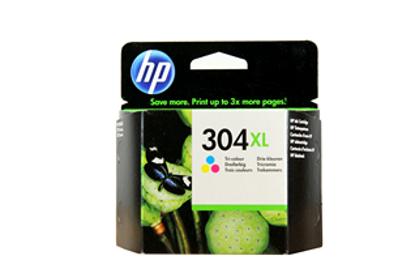 HP N9K07AE nr.304XL Colour, originalna kartuša