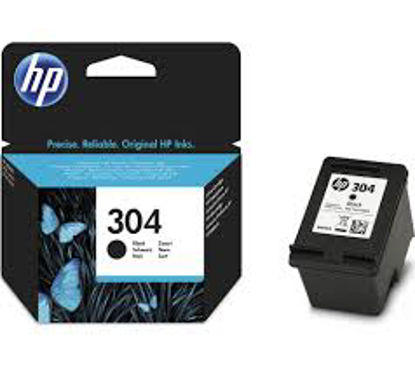 HP N9K06AE nr.304 Black, originalna kartuša