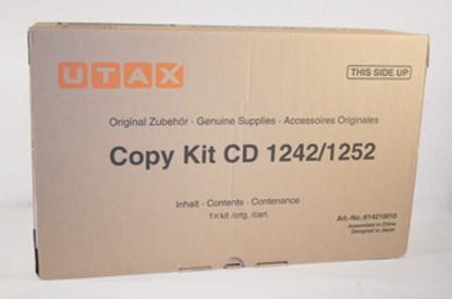 Utax CD 1242 (614210010) Black, originalen toner