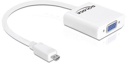 DeLock Adapter HDMI-micro D Stecker > VGA Buchse