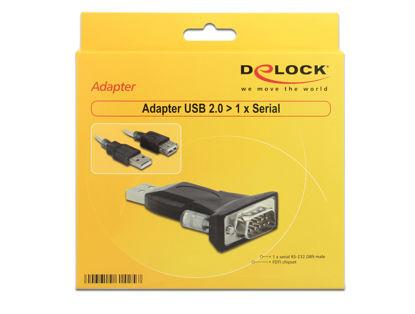 DeLock (61364) Adapter USB 2.0 - 1 x Serial, adapter