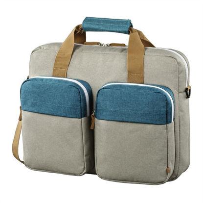 "Hama Florence 2 15,6"" Blue/Grey, torba za prenosnik"
