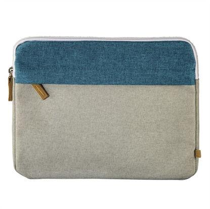 "Hama Florence Sleeve 10,1"" Blue/Grey, torba za prenosnik"