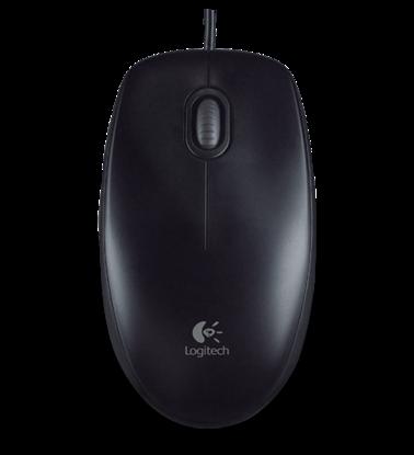 Logitech B100 Black, optična miška