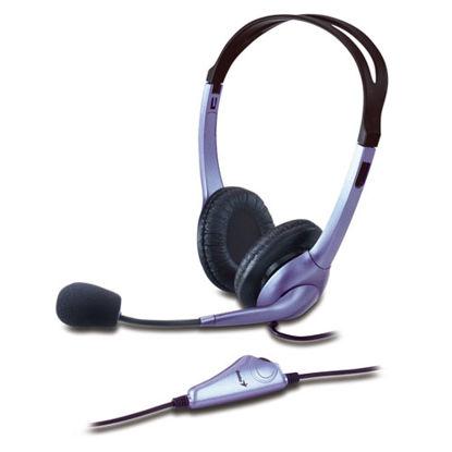 Genius HS-04S 2.0 Purple/Black, slušalke z mikrofonom