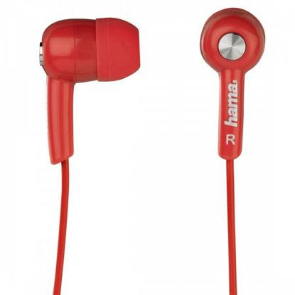 Hama HK-2114 2.0 Red, mobilne slušalke z mikrofonom