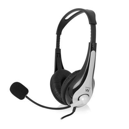 Ewent EW3562 2.0 Black, slušalke z mikrofonom