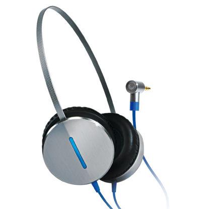 Gigabyte Fly 2.0 Silver/Blue, slušalke