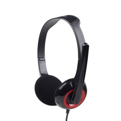 Gembird MHS-002 2.0 Black, slušalke z mikrofonom