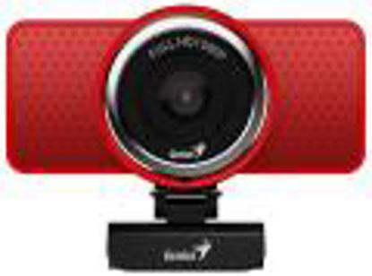 Genius eCam 8000 Mic 720p Red, spletna kamera