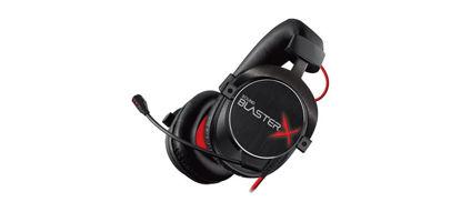 Creative Sound BlasterX H7 Tournament Edition USB 7.1 Gaming Black, slušalke z mikrofonom