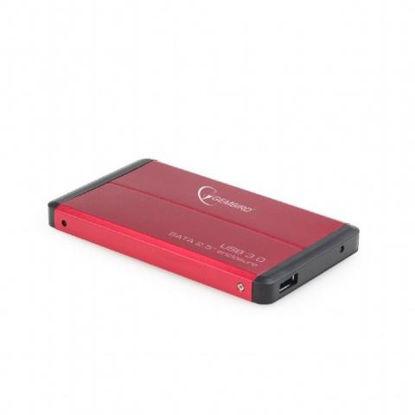 "Gembird 2,5"" EE2-U3S-2-R USB 3.0 Red, ohišje za disk"