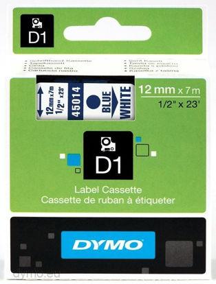 Dymo 45014 (S0720540) 12mm x 7m Blue – White, etikete