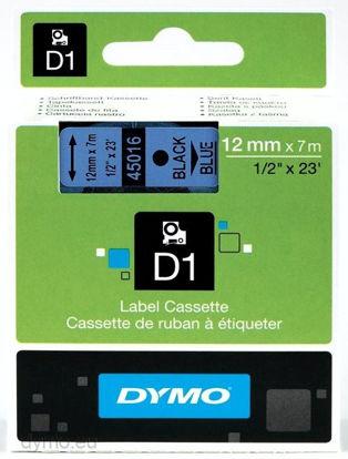 Dymo 45016 (S0720560) 12mm x 7m Black – Blue, etikete