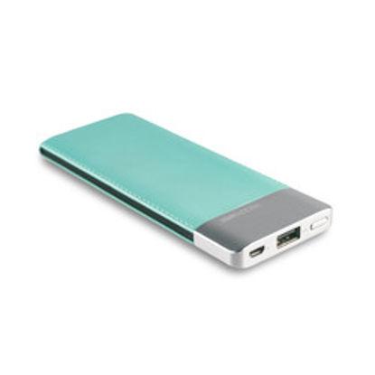 Realpower PB5500 fashion Lake Blue, prenosna baterija