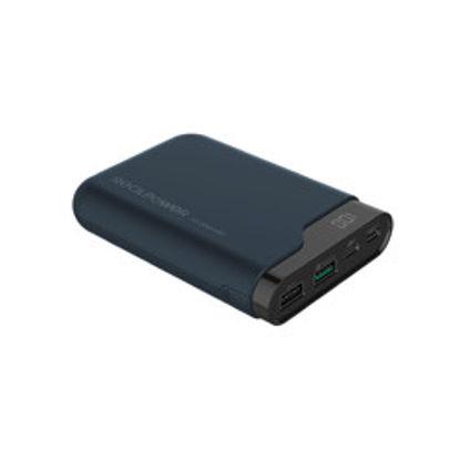 Realpower PB10000 PD QC Dark Blue/Black, prenosna baterija