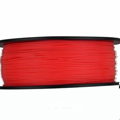 3D filament PLA FLUORES 1,75 mm 1kg flo. Red