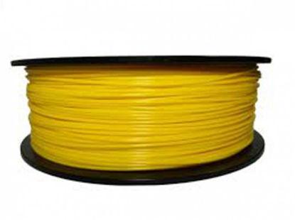 3D filament PLA 1,75 mm (code 107c) 1kg Dark Yellow