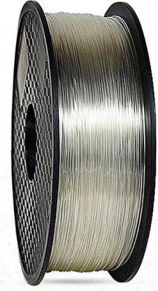 3D filament TPU+TPE 1,75 mm 1kg transparent