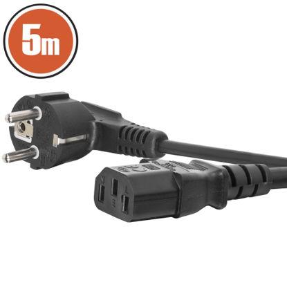 Delight 220V (EURO), 5m, napajalni kabel