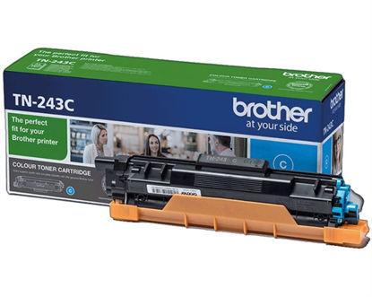 Brother TN-243C (TN243C) Cyan, originalen toner