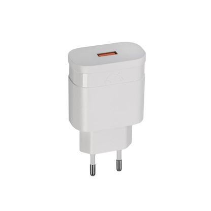RivaCase RIVAPOWER VA4110 W00 18W QC 3,0/ 1USB White, hišni polnilec