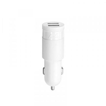 RivaCase RIVAPOWER VA4222 W00 2,4A/ 2USB white, avto polnilec