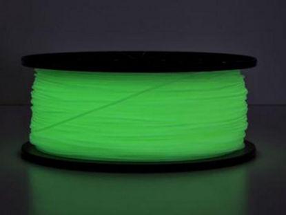 3D Filament ABS 1,75 mm Glow-in-Dark 1kg Green