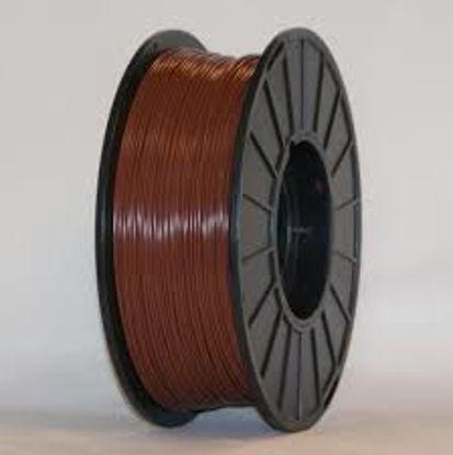 3D filament PLA 1,75 mm 1kg Brown