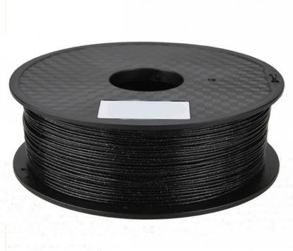 3D filament PLA 1,75 mm 1kg Glitter Black