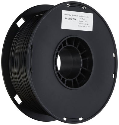 3D filament ABS 1,75 mm 1kg Black (elektro prevodni)