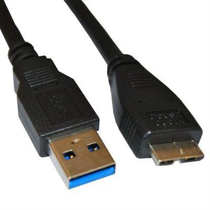 Kolink 95026 USB 3.0 A (M) – micro USB B (M) 1.8m Black, kabel