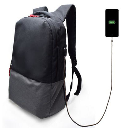 "Ewent EW2529 USB 17,3"" Black, nahrbtnik za prenosnik"
