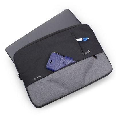 "Ewent EW2535 Urban Sleeve 15,6"" Black/Grey, torba za prenosnik"
