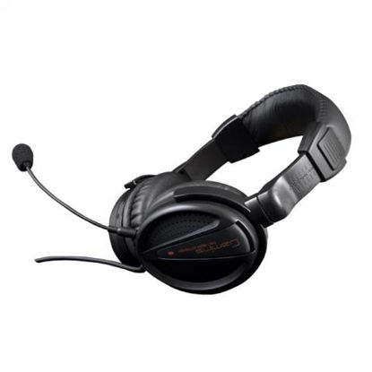 Modecom MC-828 Striker Black, slušalke z mikrofonom