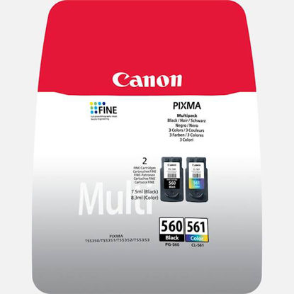 Canon PG-560/CL-561 (3713C006AA), komplet originalanih kartuš