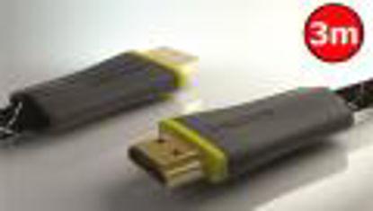Thonet & Vander Referenz HDMI 1.4 (3D/Full HD/4K) 3m Black, kabel
