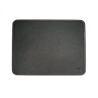 Ewent EW2761 leather effect Black, podloga za miško