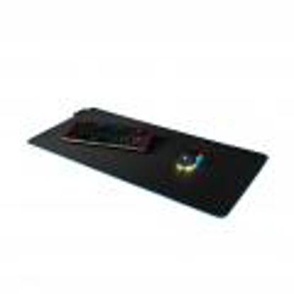 Modecom Volcano Aira RGB Black, podloga za miško