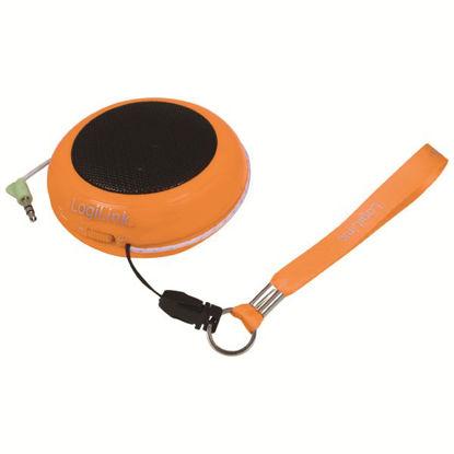 Logilink SP0016 Portable jack Orange, zvočnik