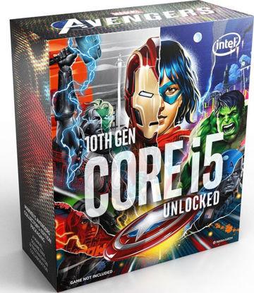 Intel Core i5-10600K 3,3GHz LGA1200 Box BX8070110600KA (Without Fan) - Marvel Avenger Edition