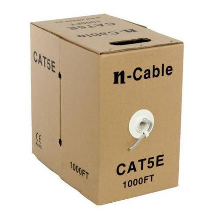 nBase NB-C5E-305 UTP CAT5e 305m CCA 24AWG Grey